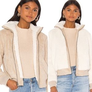 NWT 2 in 1 REVERSIBLE Cupcakes & Cashmere Jacket